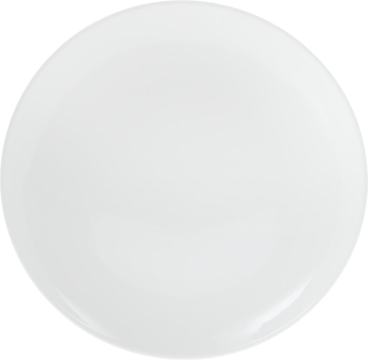 Блюдо Wilmax, диаметр 30,5 см. WL-991024 / AWL-991024 / AОригинальное блюдо Wilmax, изготовленное из высококачественного фарфора, прекрасно подойдет для подачи нарезок, закусок и других блюд. Оно украсит ваш кухонный стол, а также станет замечательным подарком к любому празднику.