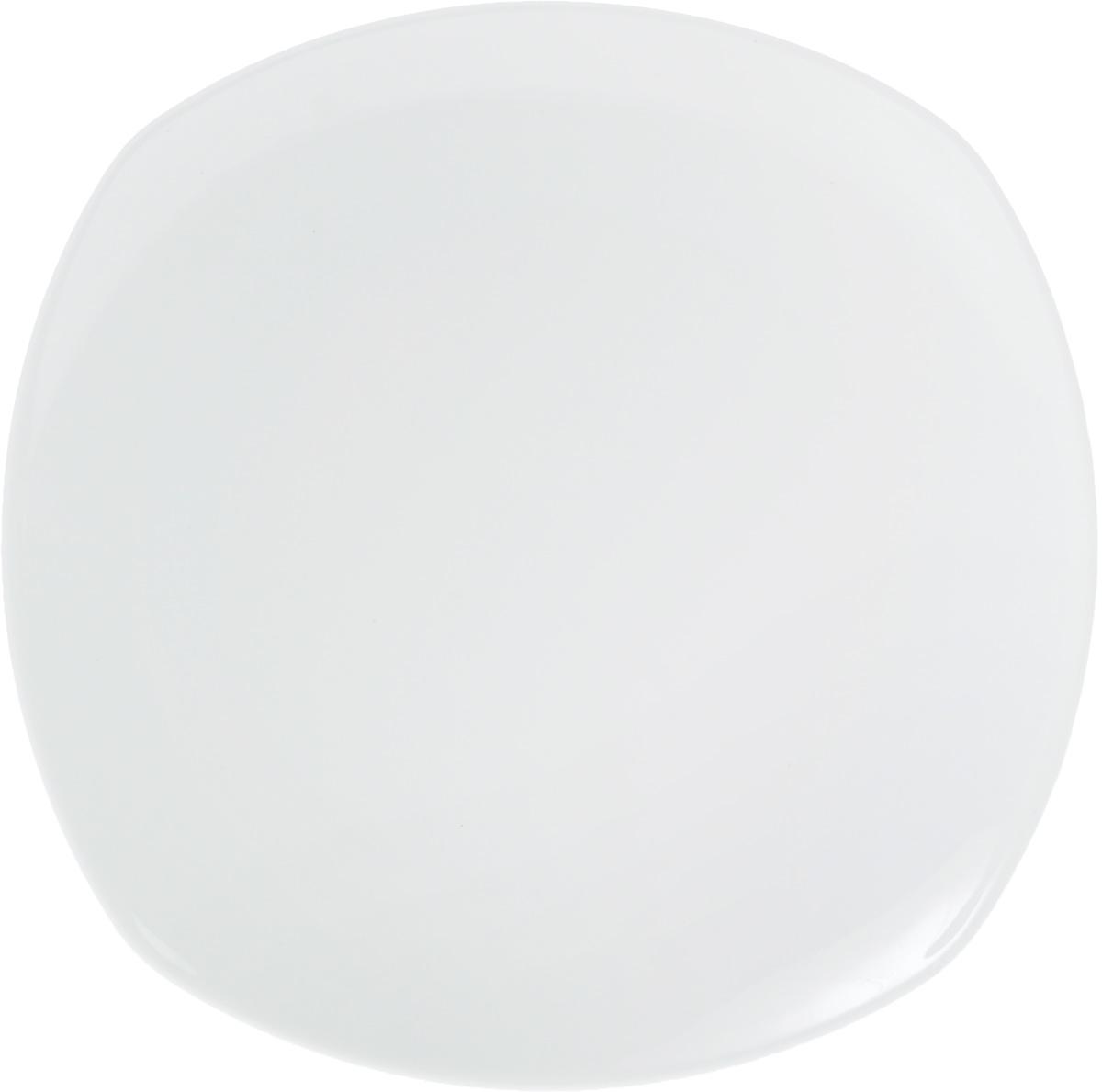 Тарелка Wilmax, 28 х 28 смWL-991221 / AТарелка Wilmax, изготовленная из высококачественного фарфора, имеет оригинальную. Изящный дизайн придется по вкусу и ценителям классики, и тем, кто предпочитает утонченность и изысканность. Тарелка Wilmax идеально подойдет для сервировки стола и станет отличным подарком к любому празднику. Размер тарелки (по верхнему краю): 27 х 27 см.