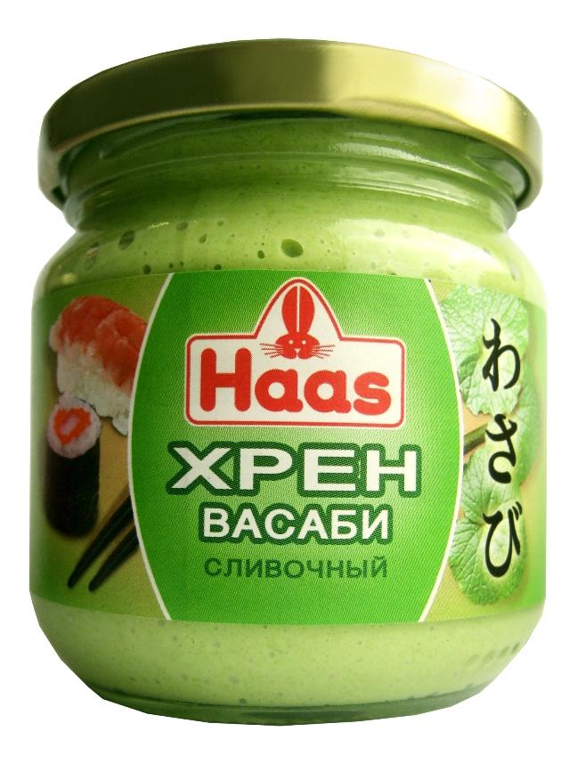 Haas хрен васаби сливочный, 190 г