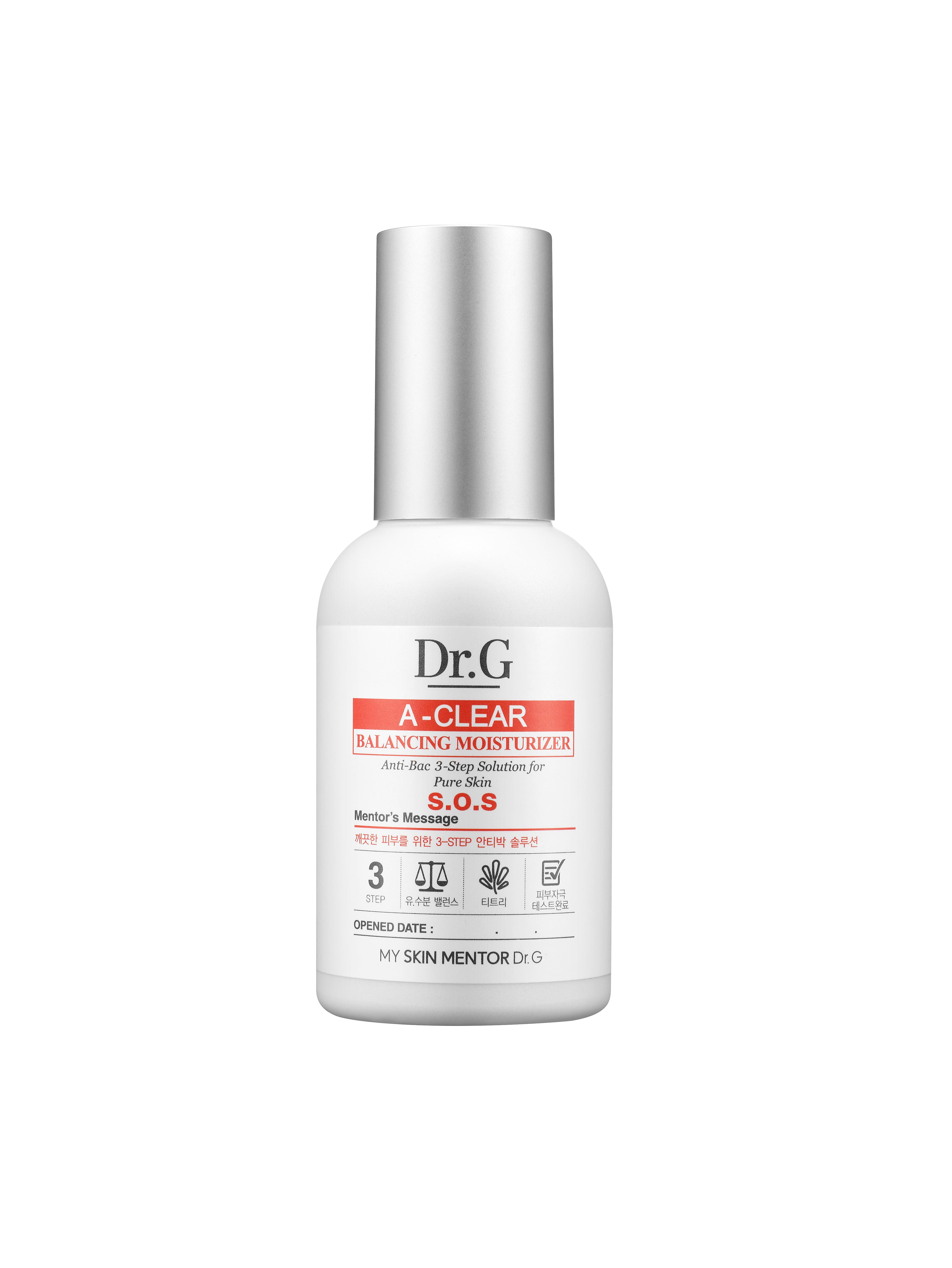 Dr. G Лосьон балансирующий для проблемной кожи A-Clear, 50 млDG131334Лосьон восстановливает гидро-липидный баланс, контролируя работу сальных желез. Хорошо очищает кожу и забитые поры.Салициловая кислота и масло чайного дерева оказывают антибактериальное воздействие, подавляя инфекции. Идеально подходит для проблемной кожи, предотвращает появление прыщей.