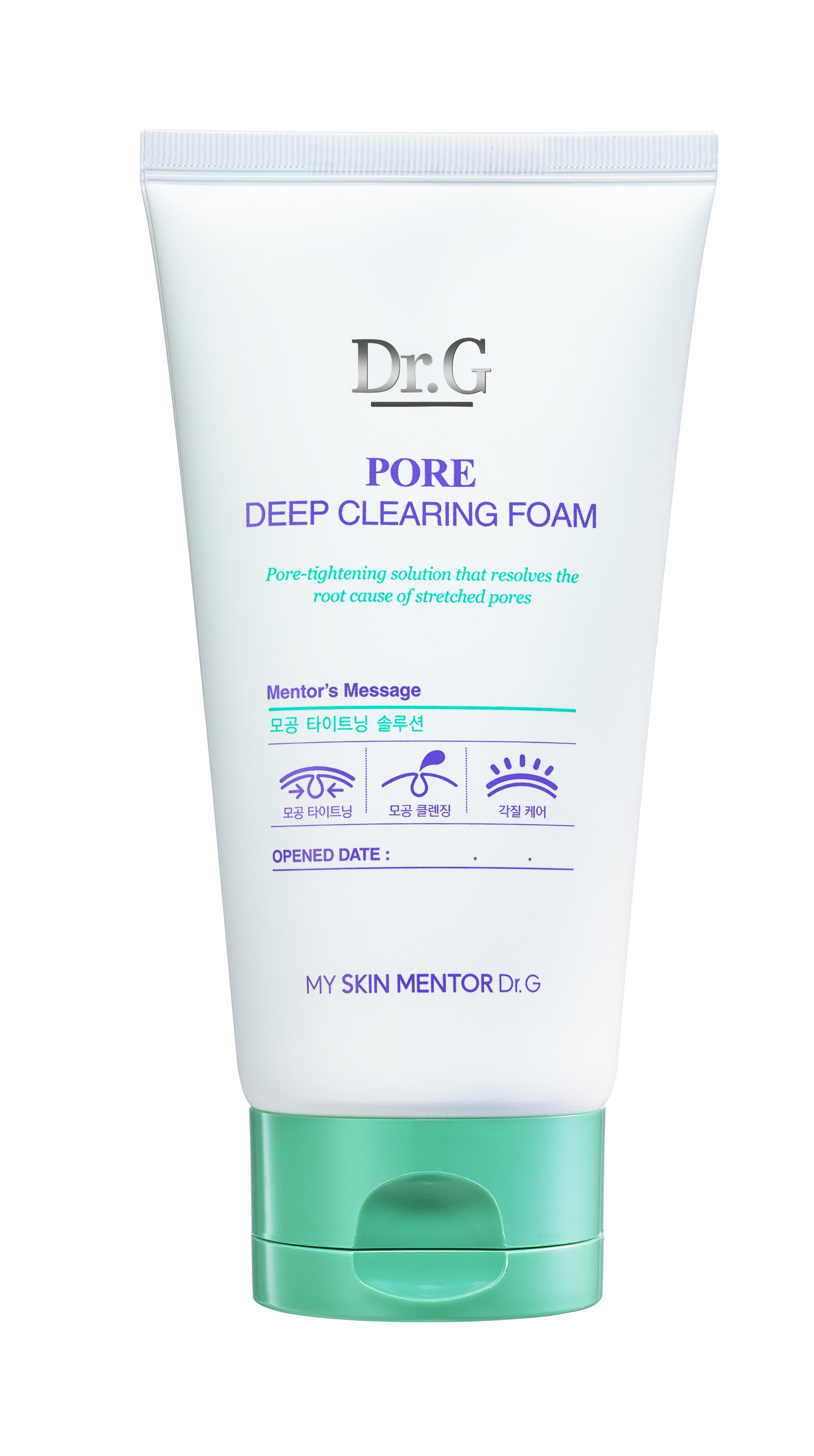 Dr. G Пенка очищающая для сужения пор Pore, 150 млDG134229Глубоко очищающая пенка эффективно очищает поры и растворяет угри, сальные пробки, отшелушивает омертвевшие клетки. Способствует выравнивниванию тона и сужает расширенные поры. Сохраняет кожу матовой, чистой и свежей. Подходит для ежедневного применения.