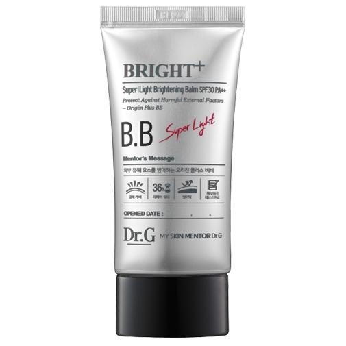 Dr. G ББ крем для яркости кожи SPF30 PA++ (#23), 45 млDG136315Гипоаллергенный солнцезащитный крем, укрепляющий здоровье кожи и защищающий от агрессивных факторов окружающей среды. Устраняет пигментацию, маскирует красноту и раздражение, обладает увлажняющими свойствами. Легкий порошок Air-Light Powder создает ясное покрытие с едва уловимым блеском. Разглаживает кожу, сужает поры.