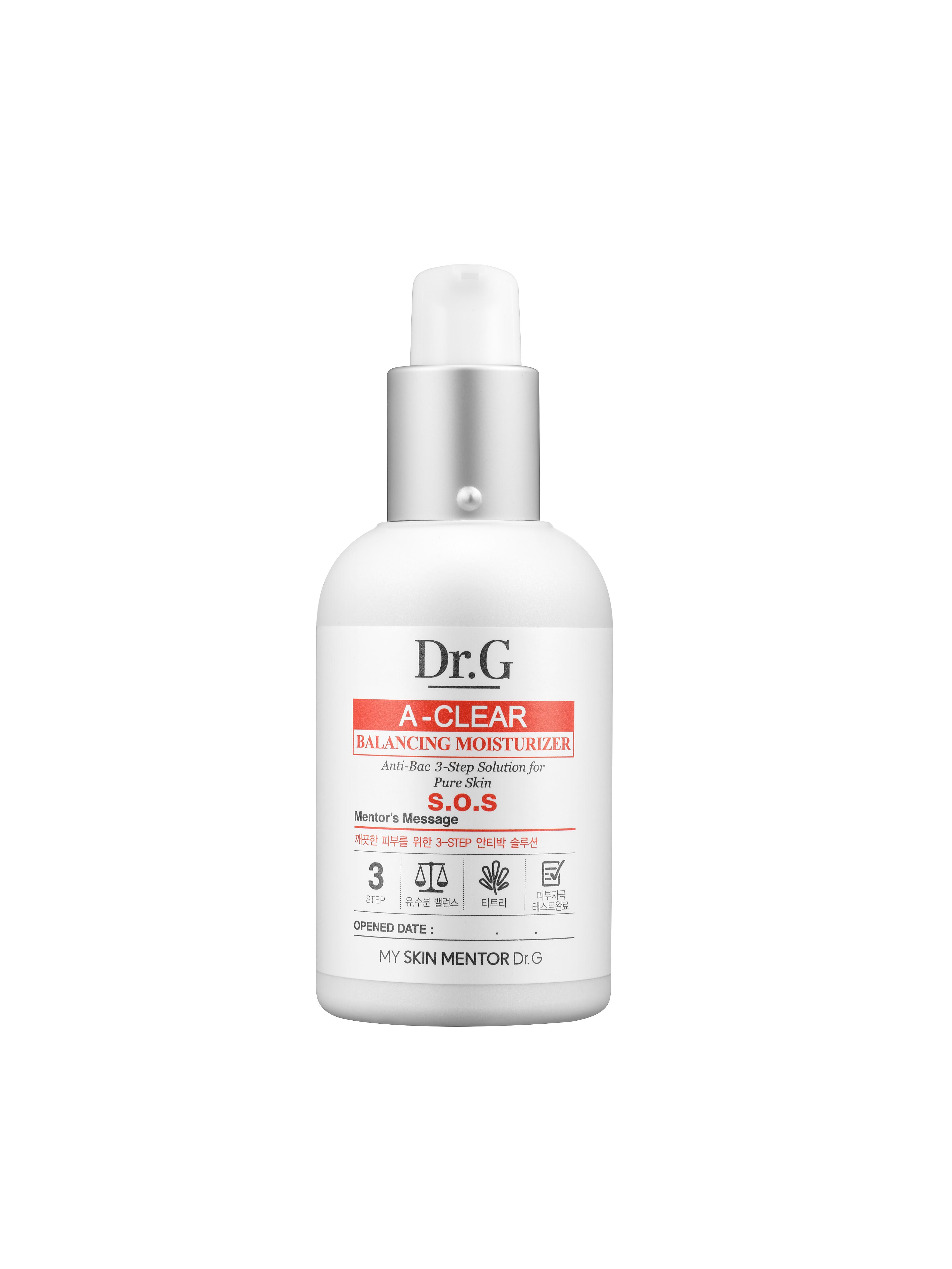 Dr. G Спрей для лечения проблемной кожи тела A-Clear, 170млDG136773Спрей для ухода за проблемной кожей спины и зоны декольте борется с акне: подавляет чрезмерную работу сальных желез, устраняет бактерии на поверхности кожи, оказывает антибактериальное и антисептическое действие. Масло чайного дерева и салициловая кислота подавляют инфекции, заживляют кожу и успокаивают раздражение.