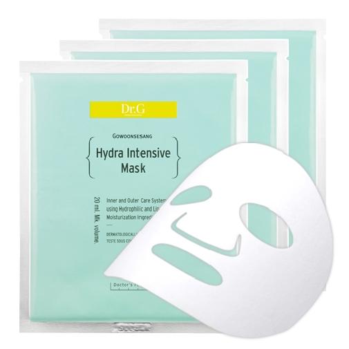Dr. G Маска тканевая увлажняющая Hydra, 20 мл х 3DG137015Увлажняющая маска глубоко увлажняет кожу, не нарушает водный баланс кожи, питает, благодаря керамидам и гиалуроновой кислоте в составе. Устраняет шелушение, стянутость и обезвоженность, усиливает регенерацию.