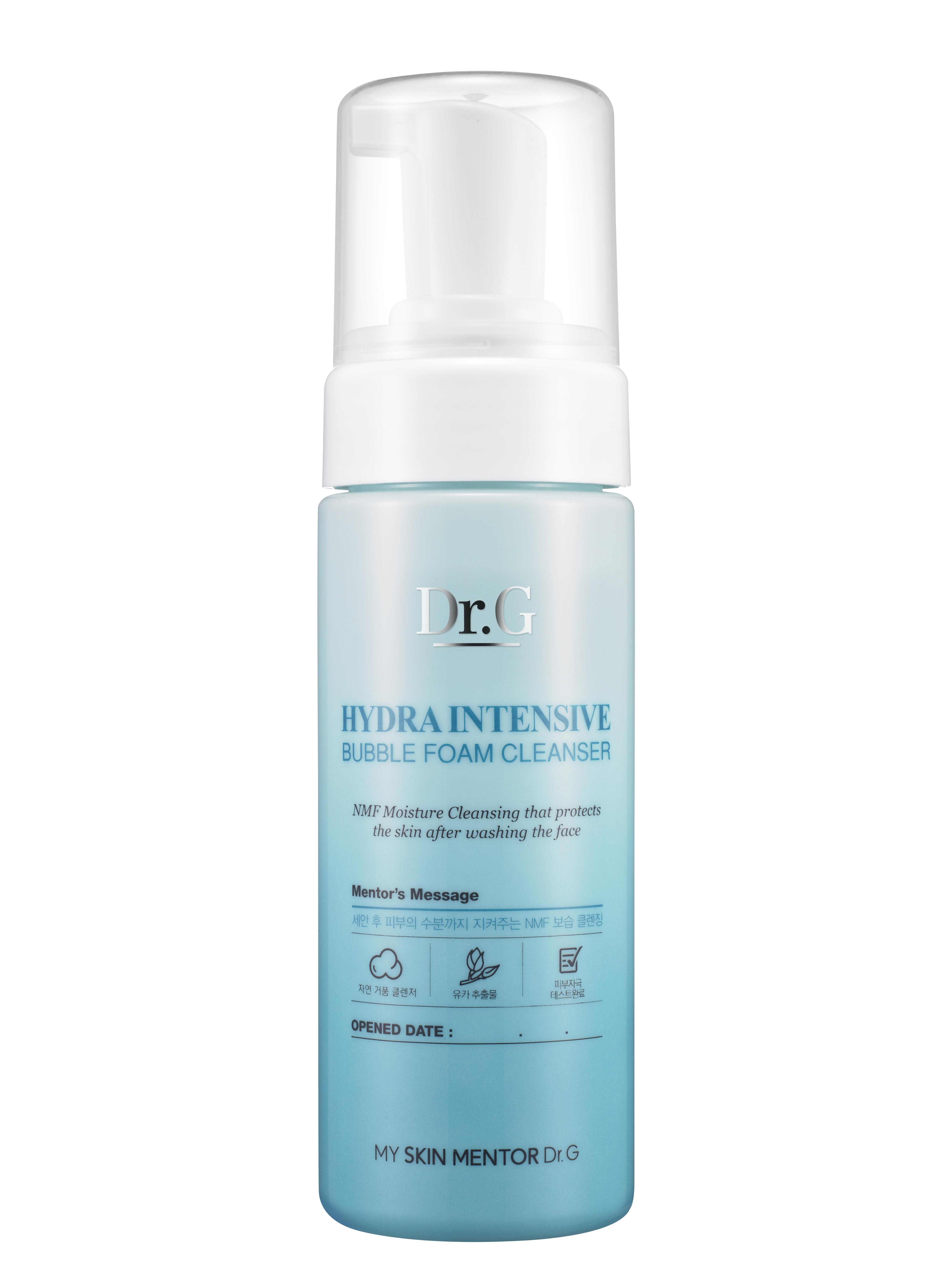 Dr. G Пенка для умывания очищающая увлажняющая Hydra, 150 млDG137398Пенка для интенсивного увлажнения и очищения кожи лица с усиленным NMF (натуральным увлажняющим фактором). Создает богатую густую пену. Оптимизирует влагообмен. Нейтрализует раздражение при чувствительной коже. NMF улучшает роговой слой и внешний вид кожи. Борется с воспалением и краснотой. Придает коже бархатистость и гладкость. Пенка насыщена экстрактами сосны и юкки, а также маслом виноградных косточек. Экстракт сосны является сильным антиоксидантом, улучшает состояние сосудов и предотвращает разрушение коллагена и эластина. Экстракт юкки содержит стероидные сапонины, полифенолы флавоноидной структуры. Обладает противовоспалительным эффектом, «ловит» свободные радикалы. Масло виноградных косточек регулирует саловыделение, сужает поры, при этом выравнивая тон и улучшает кожный покров. Не содержит содиум лаурил сульфата (SLS).