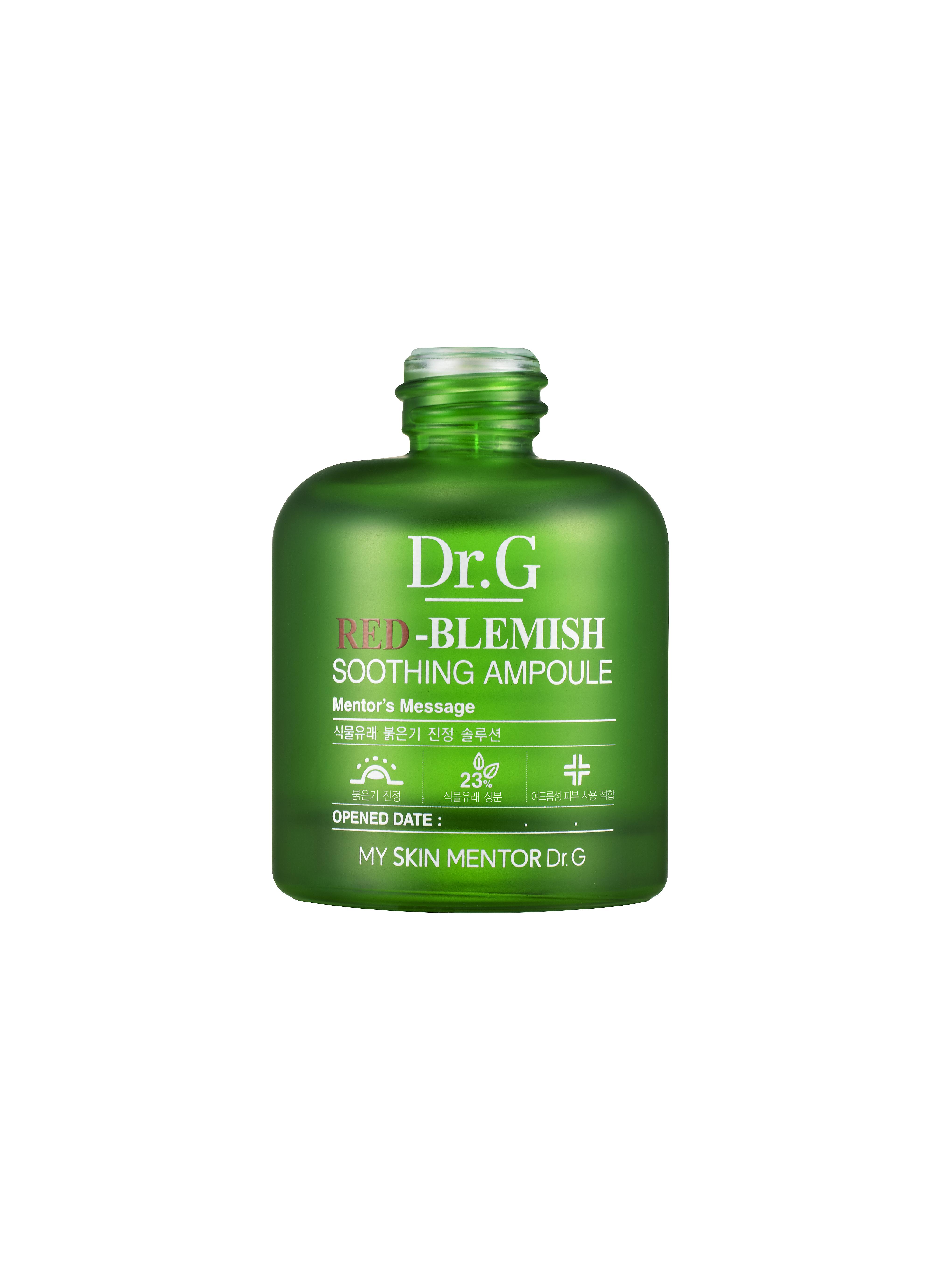 Dr. G Сыворотка-ампула смягчающая от покраснений Red-Blemish, 30 млDG624748Успокаивающая кожу сыворотка эффективно борется с краснотой и раздражениями, выравнивая ее тон и осветляя пигментные пятна различной этимологии. Содержит экстракты зеленой икры, зеленого яблока и зеленого чая. Усиливает регенерацию клеток,защищая от потери влаги,успокаивает раздражение.