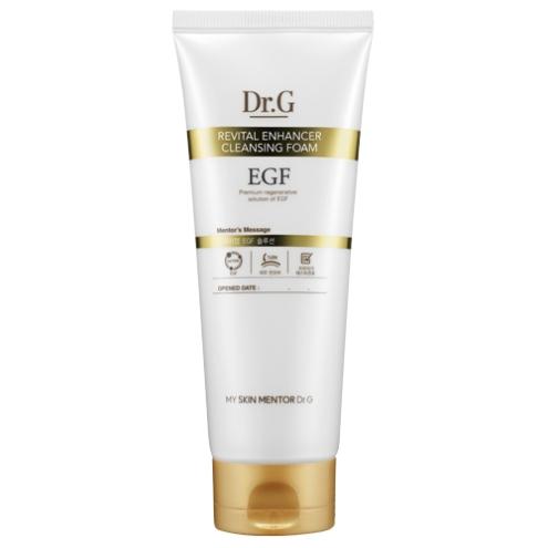 Dr. G Пенка для умывания с эпидермальным фактором роста Revital Inhancer , 150 млDG139095Пенка для умывания с EGF эпидермальным фактором роста клеток роста клеток эффективно очищает кожу от ежедневных загрязнений, препятствует преждевременному старению, способствует росту новых клеток, укрепляет стенки сосудов. Делает кожу чистой, подтянутой, гладкой и увлажненной.