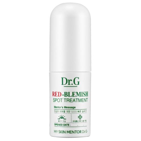 Dr. G Сыворотка для точечного нанесения от покраснений Red-Blemish, 4 млDG624755Лечебная точечная сыворотка моментального действия для ухода за раздраженной, покрасневшей кожей с релакс-эффектом. Мгновенно воздействует на проблемные участки, тормозит прогрессирование акне, убирает остатки загрязнения, защищает кожу от негативного воздействия внешних факторов окружающей среды. Содержит тройной растительный комплекс из экстрактов зеленого чая, зеленой икры и зеленого яблока. Экстракт зеленого чая способствует очищению пор, подсушивает воспаления, борется с пигментацией. С его помощью достигается регресс основных симптомов старения кожи. Содержит танины, усиливающие микроциркуляцию крови и упрочняющие капилляры. Экстракт зеленой икры стимулирует выработку коллагена и гликопретеина ламинина-5, которые увеличивают плотность кожи, аккуратно затягивают повреждения, оказывают анти-эйдж действие.