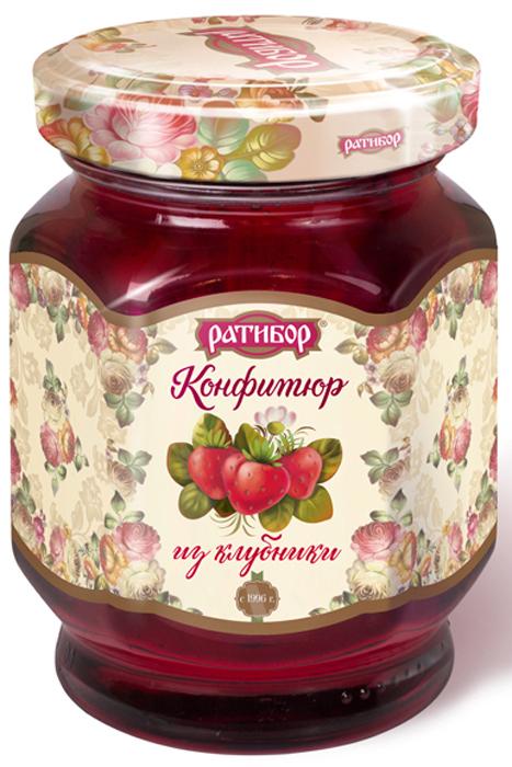 Ратибор конфитюр из клубники, 350 г