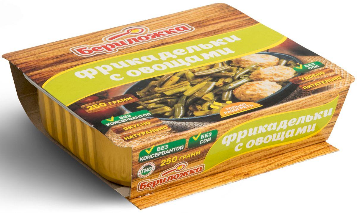 Рускон Бериложка фрикадельки с овощами, 250 г ( 5294 )
