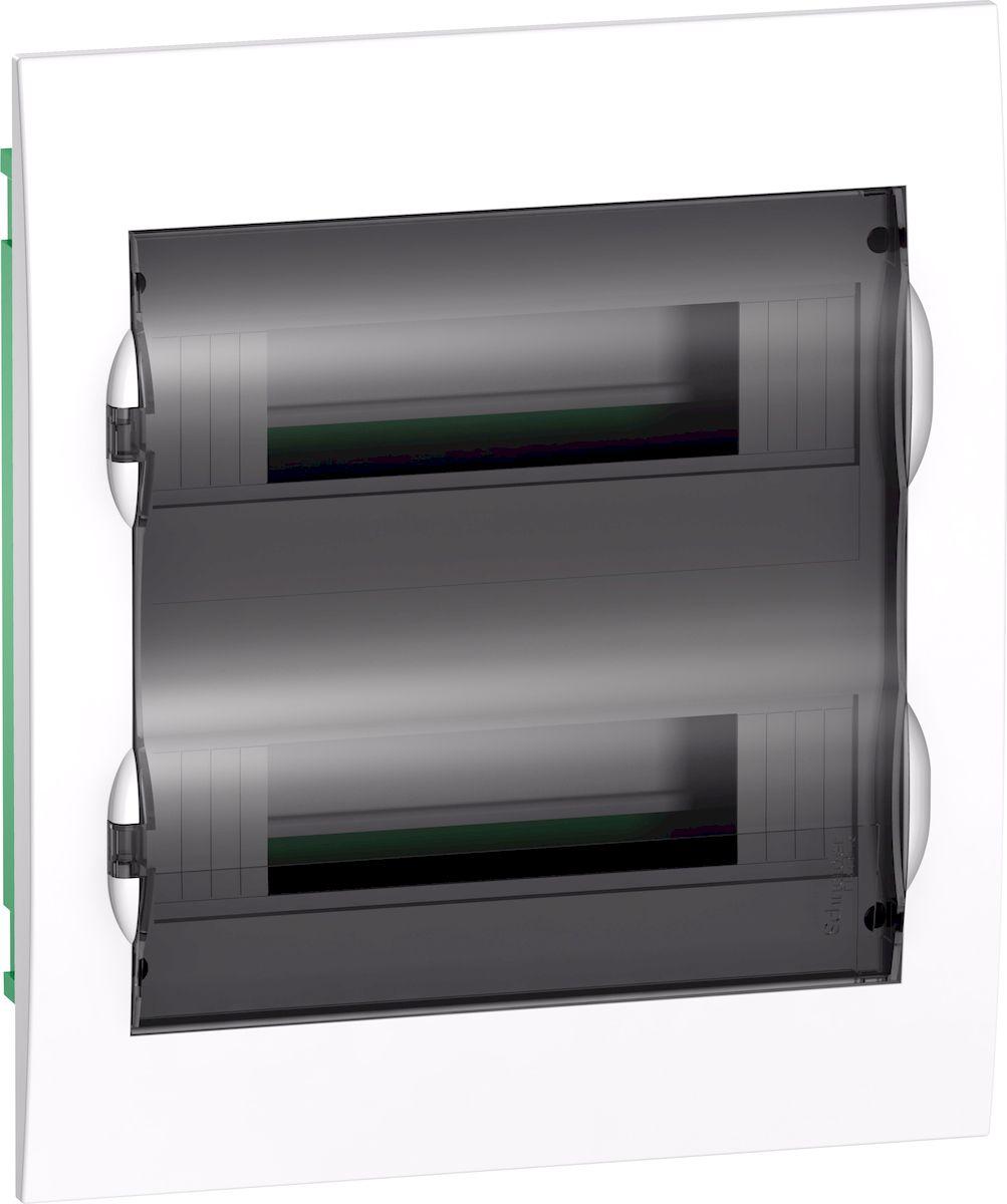 Корпус (щиток) СУ Schneider Electric Easy 9 с дверцей, 2ряд/24мод, IP40,IK07, 2 клеммы. EZ9E212S2FRUEZ9E212S2FRUКорпус (щиток) СУ с прозрачной дверцей 2ряд/24мод, IP40,IK07, 2 клеммы, Schneider Electric Easy 9 EZ9E212S2FRU