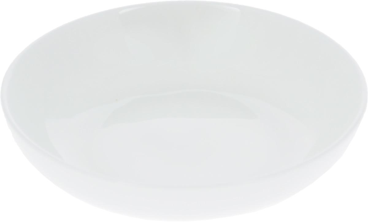 Блюдце для соуса Wilmax, диаметр 10 смWL-996078 / AБлюдце для соуса Wilmax изготовлено из высококачественного фарфора, покрытого слоем глазури. Изделие предназначено для подачи соусов, варенья или меда. Такое блюдце пригодится в любом хозяйстве, оно подойдет как для праздничного стола, так и для повседневного использования. Изделие функциональное, практичное и легкое в уходе. Можно мыть в посудомоечной машине и ставить в микроволновую печь.
