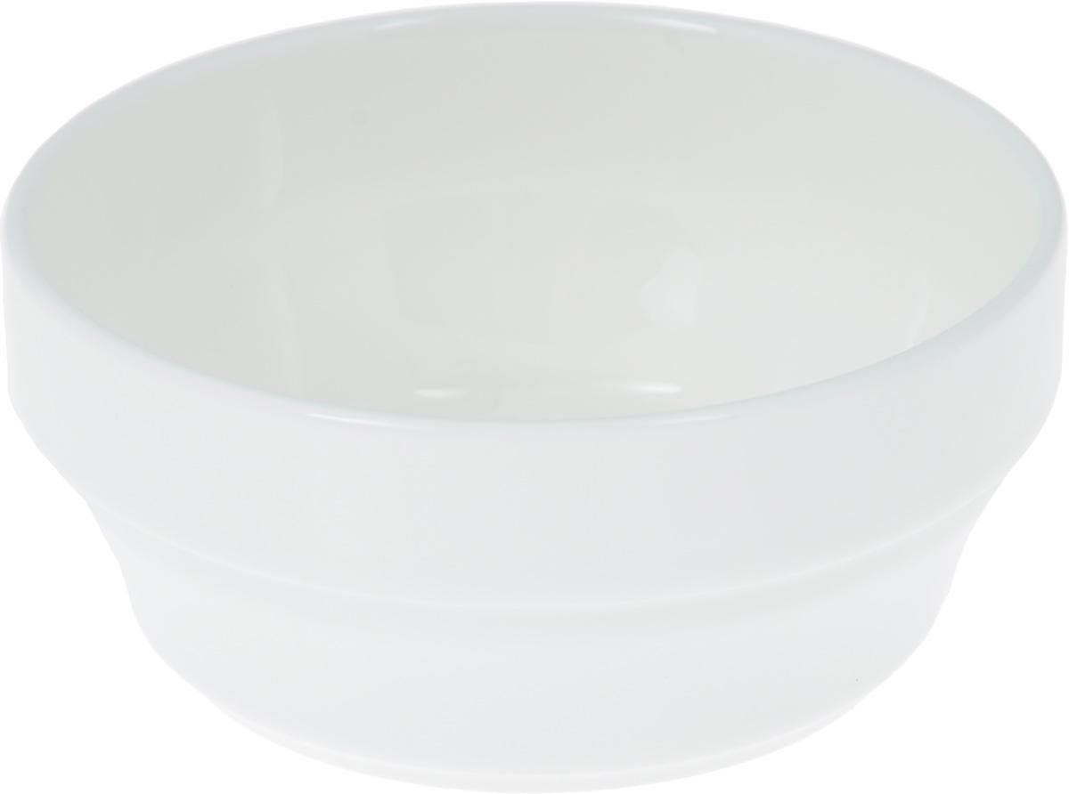 Салатник Wilmax, 170 млWL-992554 / AСалатник Wilmax, изготовленный из высококачественного фарфора с глазурованным покрытием, прекрасно подойдет для подачи различных блюд: закусок, салатов или фруктов. Такой салатник украсит ваш праздничный или обеденный стол, а оригинальный дизайн придется по вкусу и ценителям классики, и тем, кто предпочитает утонченность и изысканность. Диаметр салатника (по верхнему краю): 9 см.