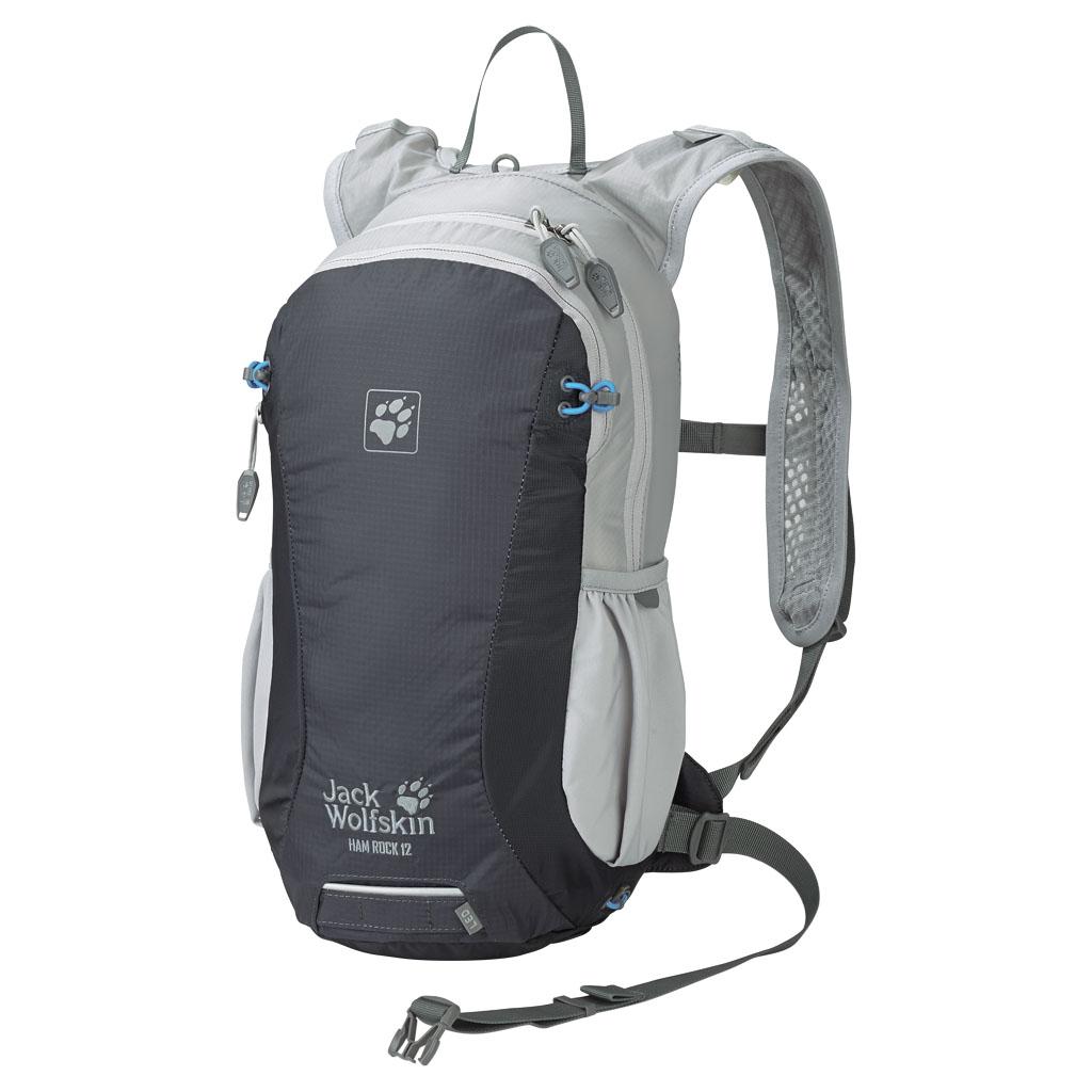 Рюкзак спортивный Jack Wolfskin Ham rock 12, цвет: серый, 12 л. 2002342-6230