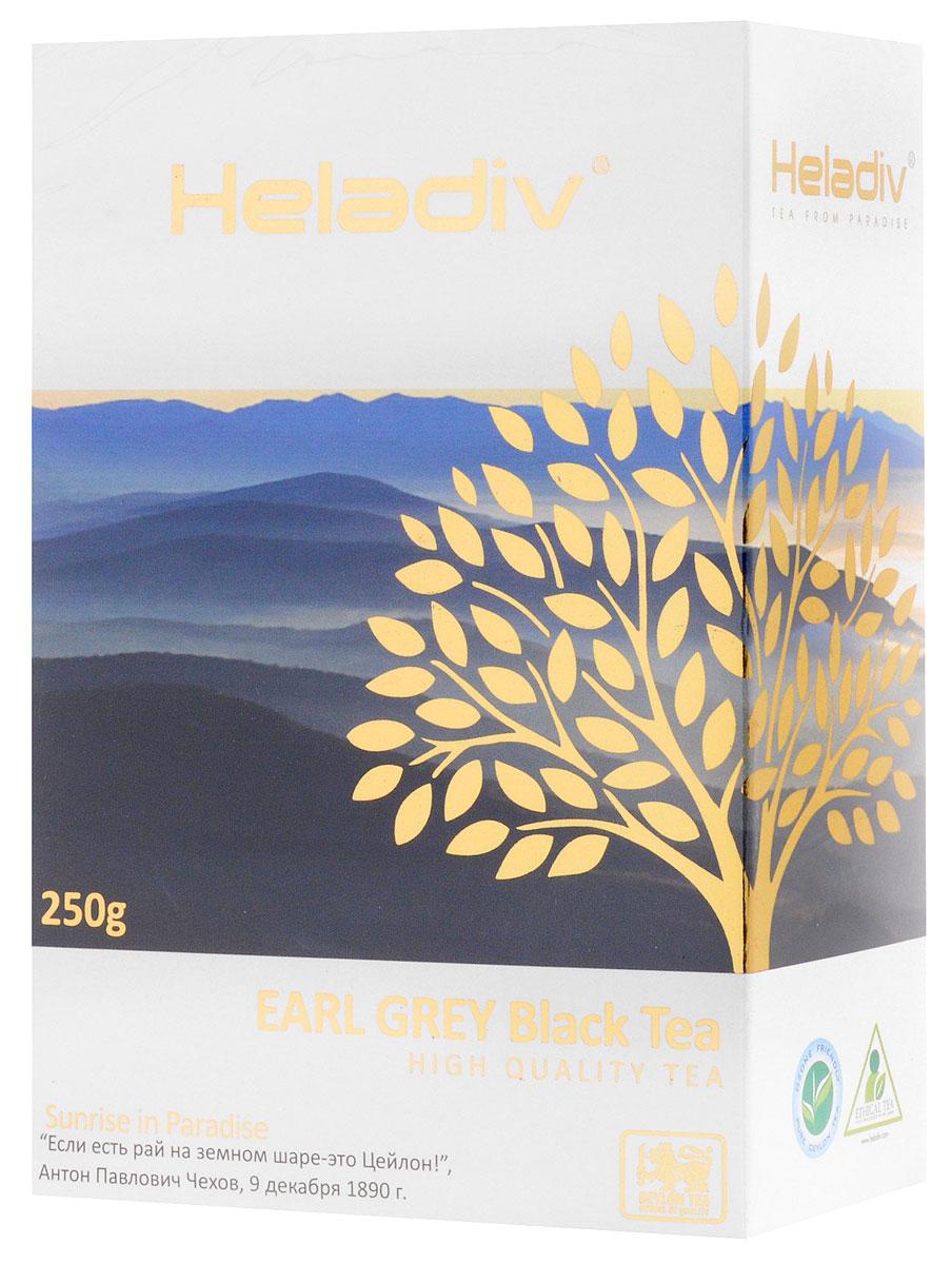 Heladiv Earl Grey Pekoe чай черный листовой с ароматом бергамота, 250 г4791007008705Heladiv Earl Grey Pekoe - это лучший стандарт черного чая ПЕКО, дающий насыщенный приятный вкус с цитрусовыми нотками бергамота. Классический терпкий чай с легким пряно-бальзамическим ароматом итальянского бергамота и настоем темного цвета.