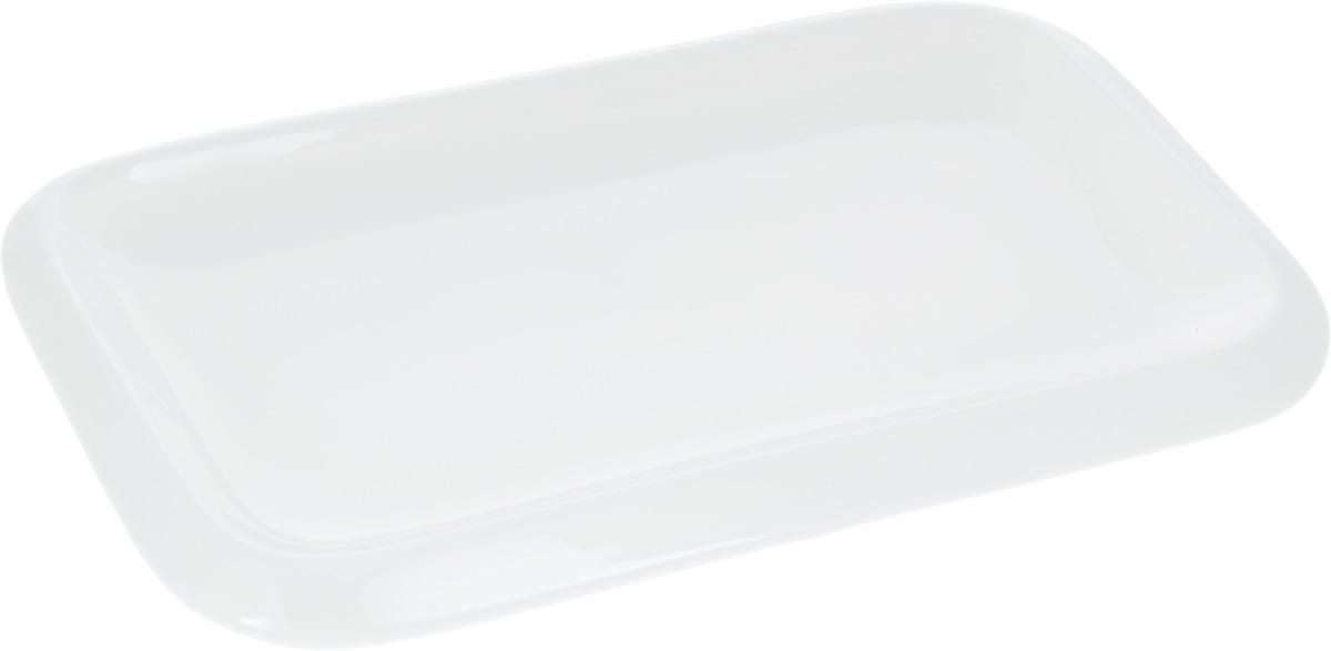 Блюдо Wilmax, 30 х 18 смWL-992661 / AОригинальное прямоугольное блюдо Wilmax, изготовленное из фарфора, прекрасно подойдет для подачи нарезок, закусок и других блюд. Оно украсит ваш кухонный стол, а также станет замечательным подарком к любому празднику. Размер блюда (по верхнему краю): 30 х 18 см.
