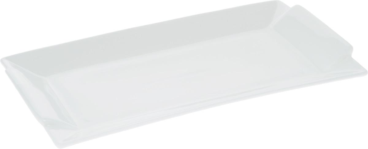 Блюдо Wilmax, 29,5 х 15 смWL-992646 / AПрямоугольное блюдо Wilmax, изготовленное из высококачественного фарфора, сочетает в себе изысканный дизайн с максимальной функциональностью. Оригинальное оформление придется по вкусу тем, кто предпочитает утонченность и изящность. Такое блюдо украсит сервировку вашего стола и подчеркнет прекрасный вкус хозяйки, а также станет отличным подарком.