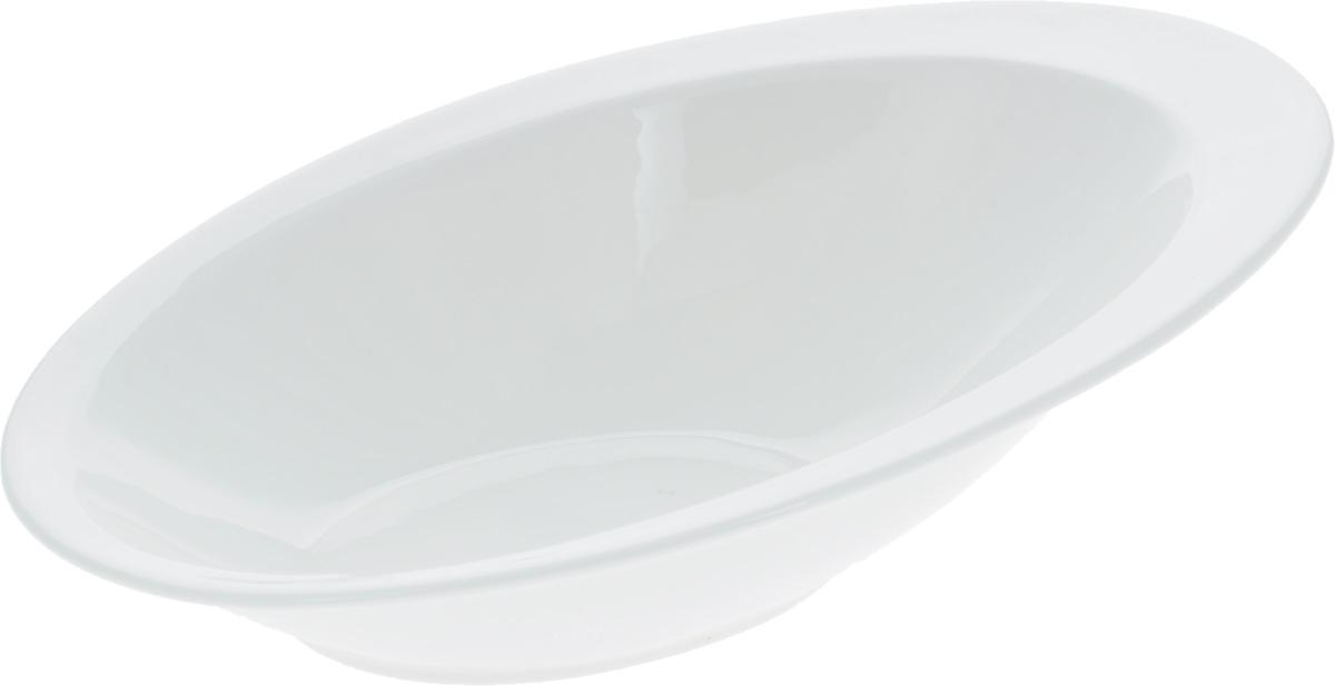 Салатник Wilmax, 27,5 х 18,5 смWL-992657 / AСалатник Wilmax, изготовленный из высококачественного фарфора с глазурованным покрытием, прекрасно подойдет для подачи различных блюд: закусок, салатов, фруктов и многого другого. Такой салатник украсит ваш праздничный или обеденный стол, а оригинальный дизайн придется по вкусу и ценителям классики, и тем, кто предпочитает утонченность и изысканность. Размер салатника (по верхнему краю): 27,5 х 18,5 см.