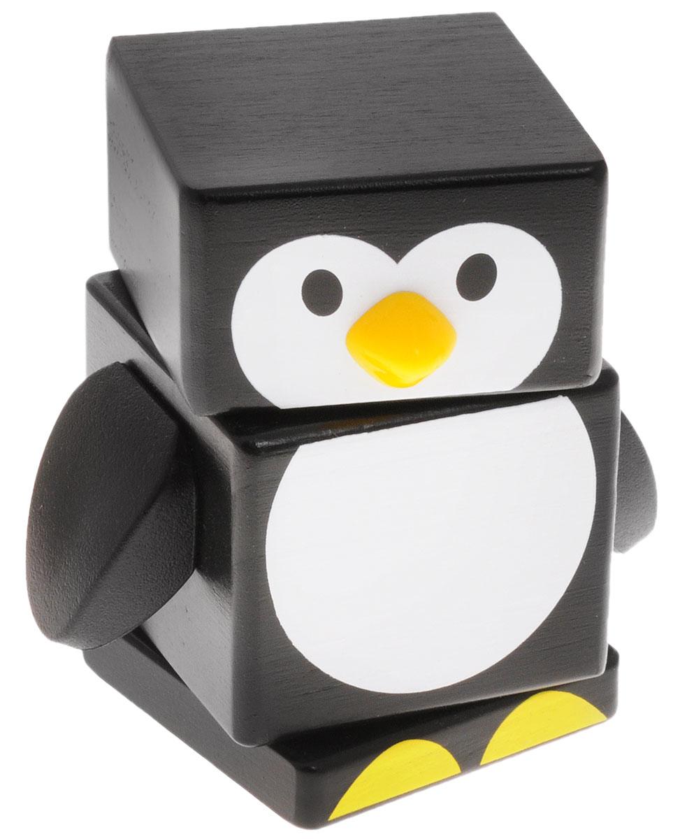 Бомик Пирамидка Пингвин809Пирамидка Бомик Пингвин, выполненная из натурального дерева, привлечет внимание ребенка. Пирамидка позволит ребенку в форме игры узнать части тела птицы. Забавная игрушка не имеет острых сторон. Все детали окрашены абсолютно безопасными водорастворимыми красителями в черный и белый цвета. Собирание пирамидки способствует развитию мелкой моторики рук, координации, логического и пространственного мышления, сенсорного восприятия, тренирует память и внимание.