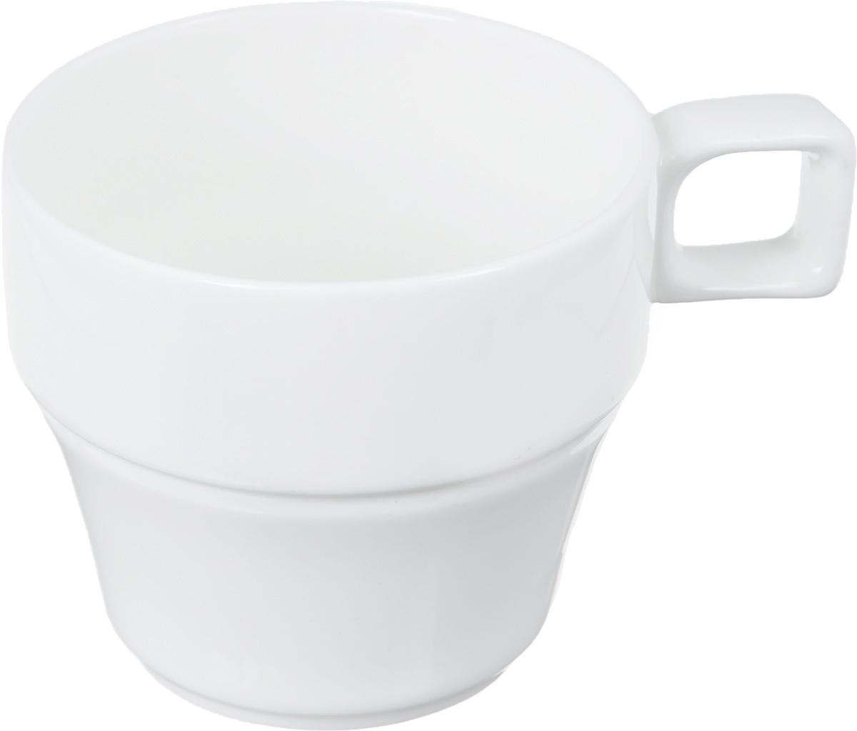 Чашка чайная Wilmax, штабелируемая, 220 млWL-993049Чайная чашка Wilmax изготовлена из высококачественного фарфора, покрытого глазурью. Штабелируемая, то есть несколько чашек легко вставляются друг в друга. Такая чашка пригодится в любом хозяйстве, она функциональная, практичная и легкая в уходе. Можно мыть в посудомоечной машине и ставить в микроволновую печь. Диаметр (по верхнему краю): 7,5 см. Высота стенки: 7 см.