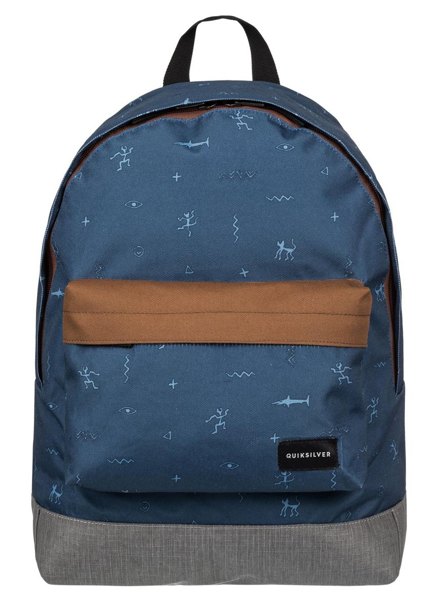 Рюкзак мужской Quiksilver Everyday poster, цвет: синий, серый. EQYBP03277-CQF6