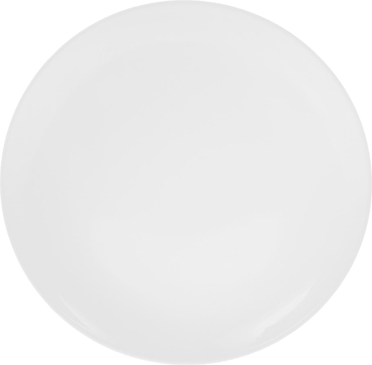 Тарелка Wilmax, диаметр 23 смWL-991014 / AТарелка Wilmax, изготовленная из высококачественного фарфора, имеет классическую круглую форму. Оригинальный дизайн придется по вкусу и ценителям классики, и тем, кто предпочитает утонченность и изысканность. Тарелка Wilmax идеально подойдет для сервировки стола и станет отличным подарком к любому празднику.
