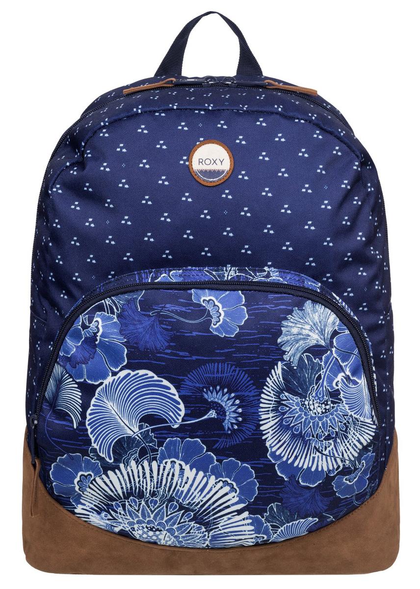 Рюкзак городской жен Roxy Fairness, цвет: синий, коричневый, 16 лERJBP03268-BSQ8