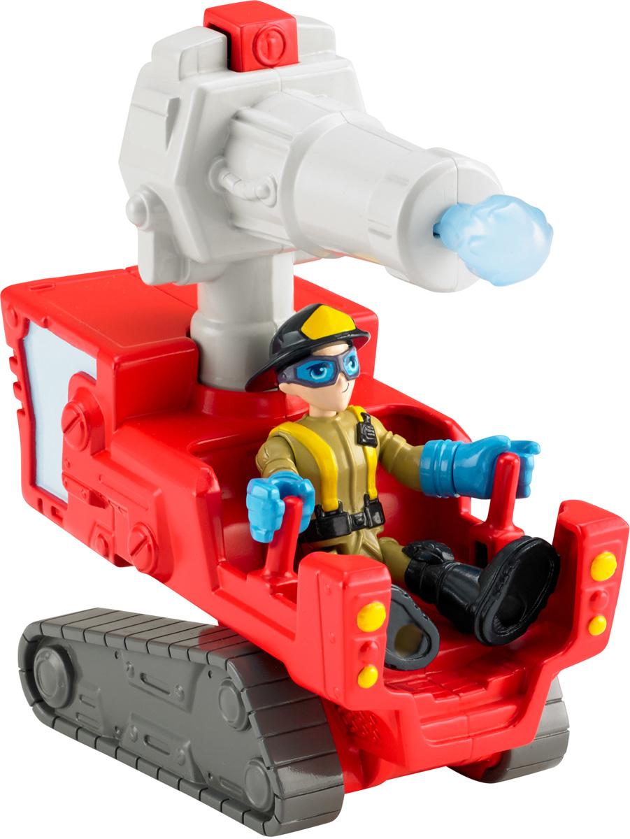 Imaginext Игровой набор Городские пожарныеCJM55_BFT48Игровой набор Imaginext Городские пожарные поможет ребенку создать бесчисленное множество сценариев сюжетно-ролевых игр со спасательной тематикой. В наборе представлены фигурка пожарного и спасательный транспорт, оборудованный мощным водяным бластером. Специальная конструкция автомобиля позволяет помещать фигурку внутрь. Все элементы набора выполнены из качественного и безопасного пластика.