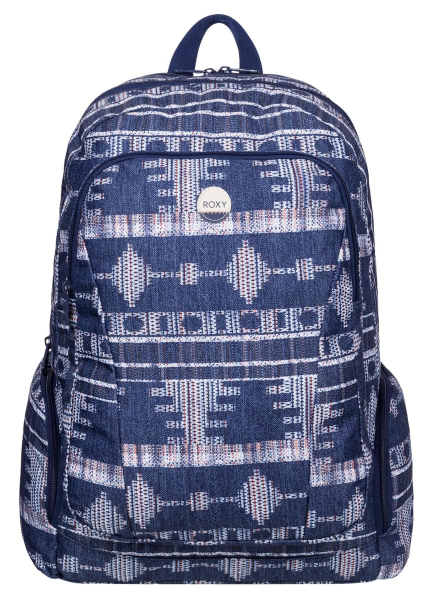 Рюкзак городской жен Roxy Alright, цвет: синий, 25 лERJBP03275-BSQ7