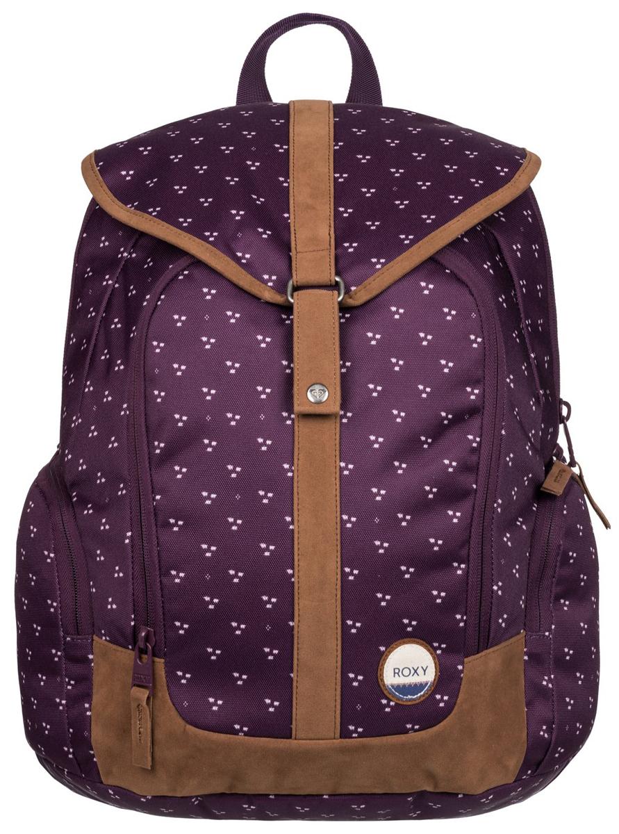 Рюкзак городской жен Roxy Ready, цвет: фиолетовый, 20 лERJBP03283-PSG6
