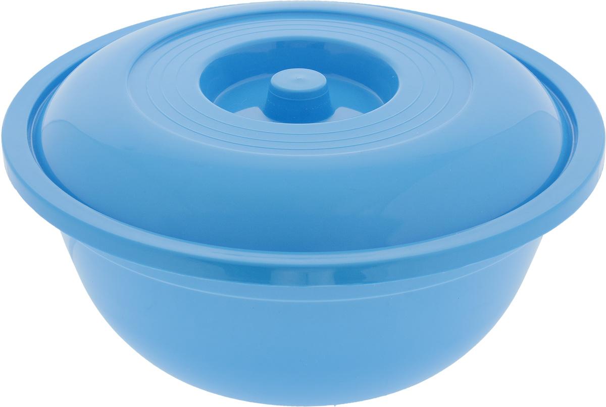 Таз Альтернатива, с крышкой, цвет: синий, 7 лМ333_синийТаз Альтернатива изготовлен из высококачественного пластика. Он выполнен в классическом круглом варианте. В комплект входит пластиковая крышка. Таз предназначен для стирки и хранения разных вещей. Он пригодится в любом хозяйстве. Диаметр (по верхнему краю): 32 см. Высота таза (без учета крышки): 12,5 см.