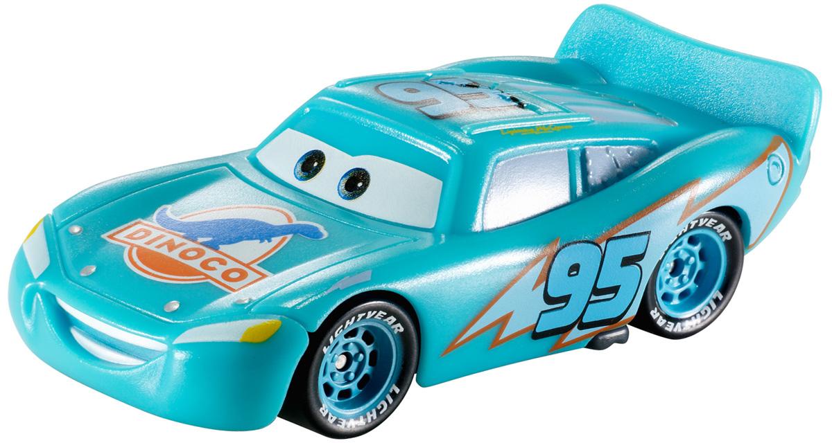 Cars Машинка Colour Changers Диноко Молния МакКуинCKD15_T2953Машинка Cars Диноко Молния МакКуин готова прокатиться по Радиатор-Спрингс, блистая обновленной краской. Опустите машинку в холодную воду и она поменяет цвет! Окуните ее в теплую воду - и первоначальный цвет вернется! Погружая в воду машинку целиком или частями, можно добиться уникального стиля. Соберите все машинки, меняющие цвет, и создайте свой уникальный автопарк!