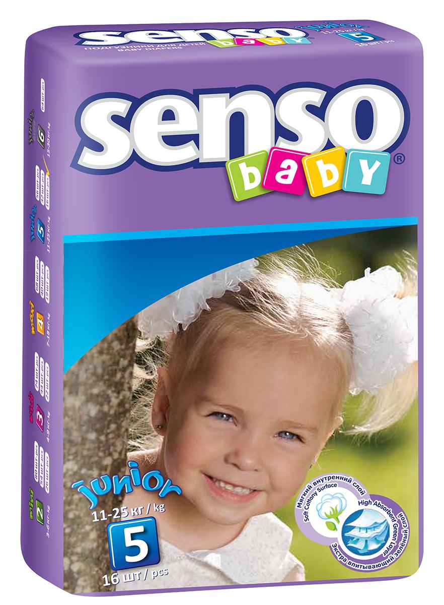 Senso Baby Подгузники детские Junior 11-25 кг 16 шт300028