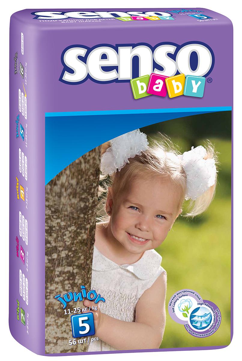 Senso Baby Подгузники детские Junior 11-25 кг 56 шт300030
