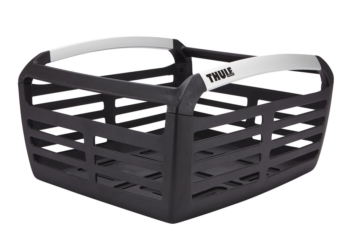 Корзина велосипедная Thule Basket100050Корзина Thule Pack'n Pedal Basket - это функциональная и стильная корзина, которая обеспечит дополнительное место для Вашего груза, как на переднем, так и на заднем багажнике. Корзина Thule Pack'n Pedal Basket легка и надежна. Она способна безопасно разместить мелкие и крупные предметы ( до двух продуктовых пакетов) Монтаж и демонтаж к багажнику или направляющим (продаются отдельно) производится легко и подручными инструментами Корзина имеет алюминиевые вставки, что увеличивает срок службы Крепится на багажник для велосипеда Thule Pack'n Pedal Tour (продается отдельно)