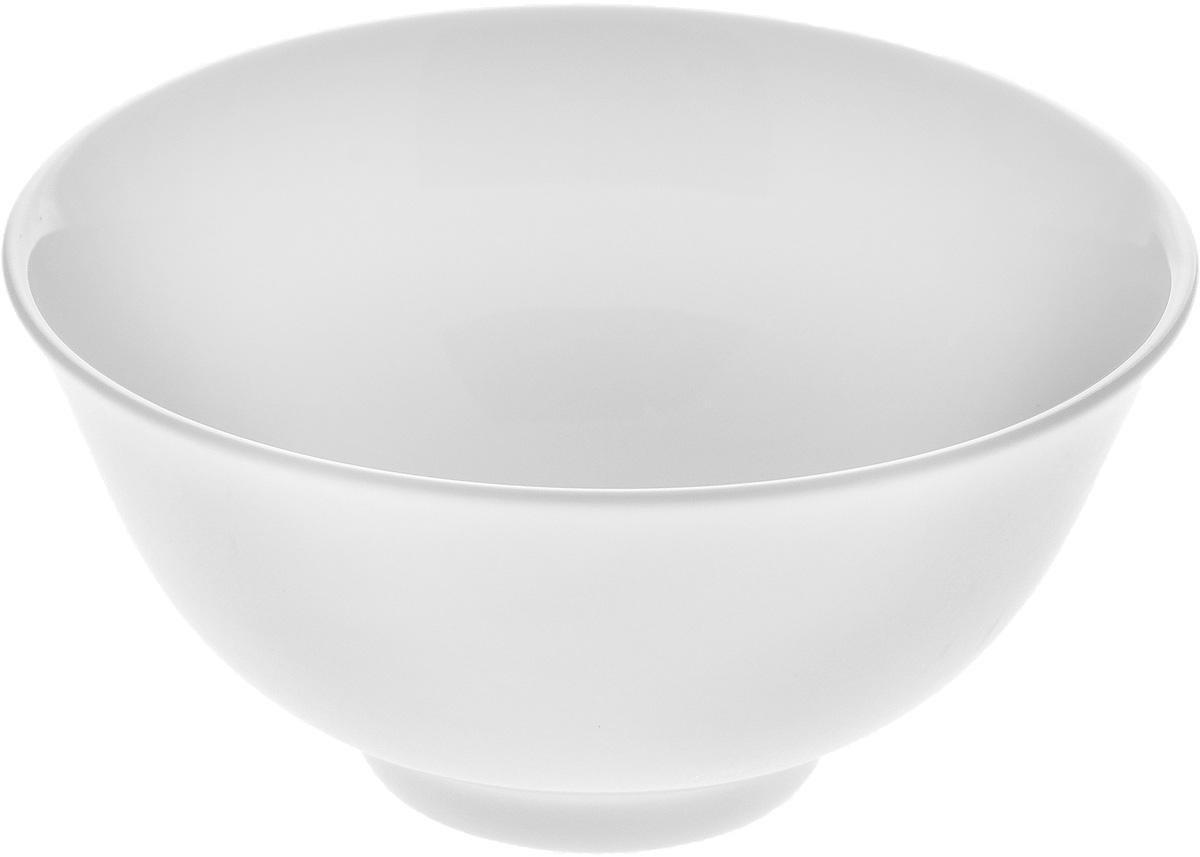 Пиала Wilmax, 260 млWL-992552 / AПиала Wilmax изготовлена из высококачественного фарфора. Изделие прекрасно подойдет для подачи салата или мороженого. Благодаря изысканному дизайну, такая пиала станет бесспорным украшением вашего стола. Она дополнит коллекцию кухонной посуды и будет служить долгие годы. Диаметр пиалы по верхнему краю: 11 см. Диаметр основания: 4,5 см. Высота пиалы: 5 см.