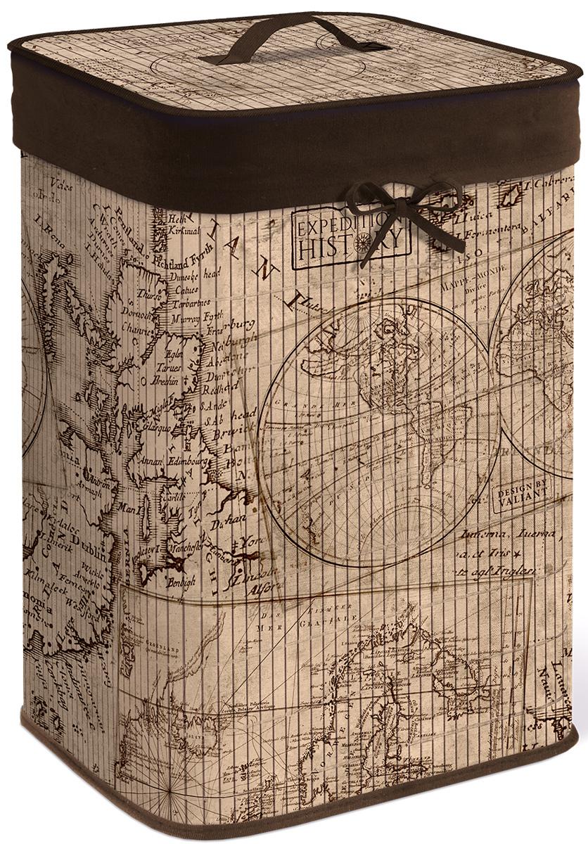 Корзина для белья с крышкой Valiant Expedition History, складная, 35х35х50 смEXP-HBB-XLОригинальный дизайн бамбуковых корзин EXPEDITION HISTORY от Valiant выполнен в изящно состаренных благородных бежевых тонах и гармонично смотрится в ванной комнате. УДОБСТВО: бамбуковая корзина EXPEDITION HISTORY — идеальное решение для хранения белья; легкая крышка позволяет скрыть содержимое корзины. ПРАКТИЧНОСТЬ: каркасная конструкция обеспечивает легкость складывания и раскладывания корзины; внутренний чехол подлежит машинной стирке при 40°C.
