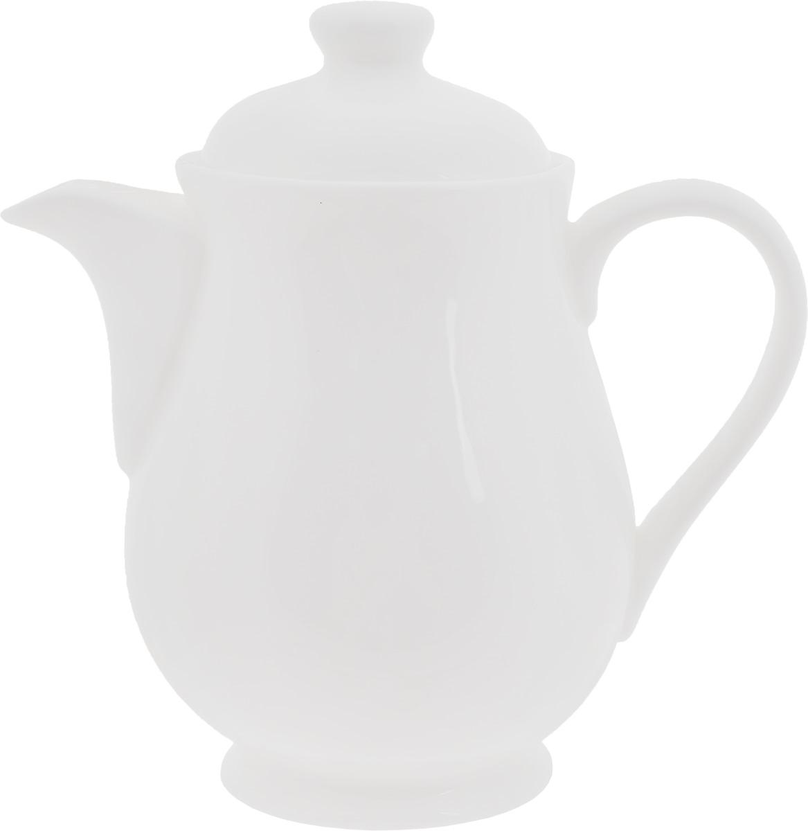 Чайник заварочный Wilmax, 320 млWL-994028 / 1CЗаварочный чайник Wilmax изготовлен из высококачественного фарфора. Глазурованное покрытие обеспечивает легкую очистку. Изделие прекрасно подходит для заваривания вкусного и ароматного чая, а также травяных настоев. Ситечко в основании носика препятствует попаданию чаинок в чашку. Оригинальный дизайн сделает чайник настоящим украшением стола. Он удобен в использовании и понравится каждому. Можно мыть в посудомоечной машине и использовать в микроволновой печи. Диаметр чайника (по верхнему краю): 6 см. Высота чайника (без учета крышки): 10,5 см.