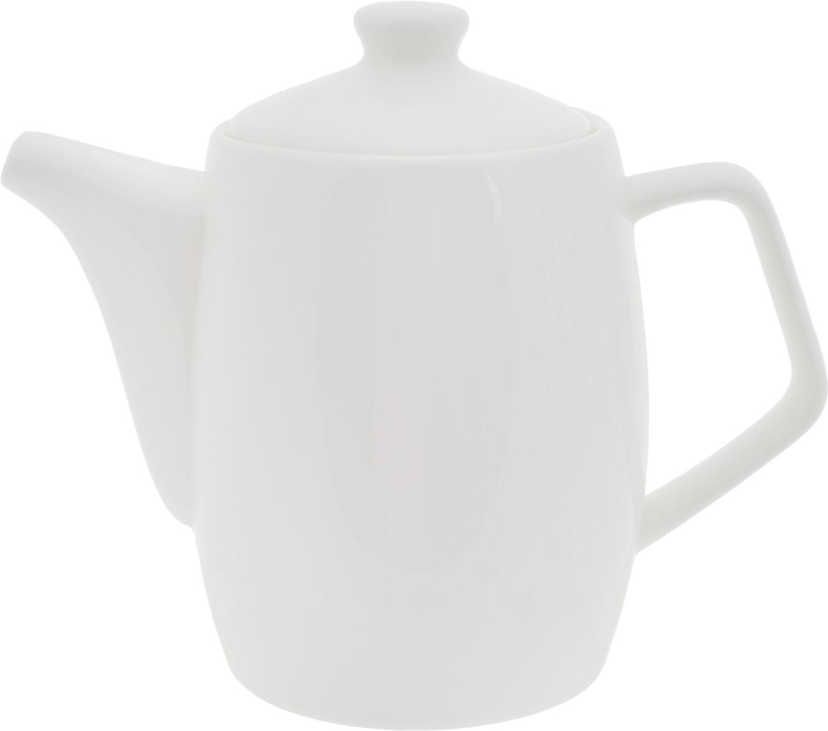 Чайник заварочный Wilmax, 1 лWL-994025 / 1CЗаварочный чайник Wilmax изготовлен из высококачественного фарфора. Глазурованное покрытие обеспечивает легкую очистку. Изделие прекрасно подходит для заваривания вкусного и ароматного чая, а также травяных настоев. Ситечко в основании носика препятствует попаданию чаинок в чашку. Оригинальный дизайн сделает чайник настоящим украшением стола. Он удобен в использовании и понравится каждому. Можно мыть в посудомоечной машине и использовать в микроволновой печи. Диаметр чайника (по верхнему краю): 9,2 см. Высота чайника (без учета крышки): 14,2 см.