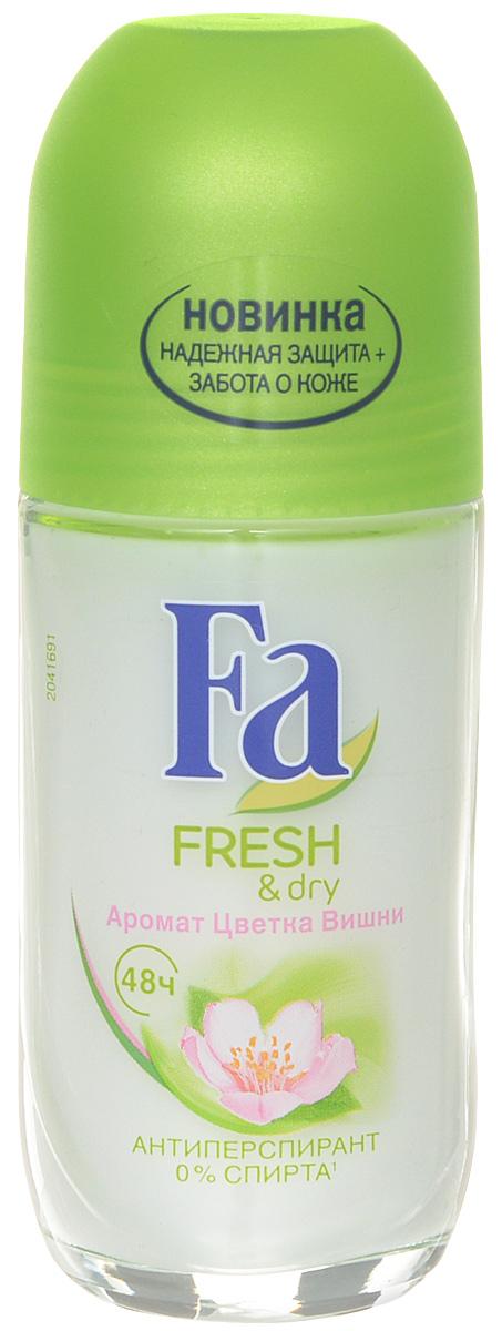 FA Дезодорант роликовый женский Fresh&Dry Цветок Вишни, 50 мл 1212197021