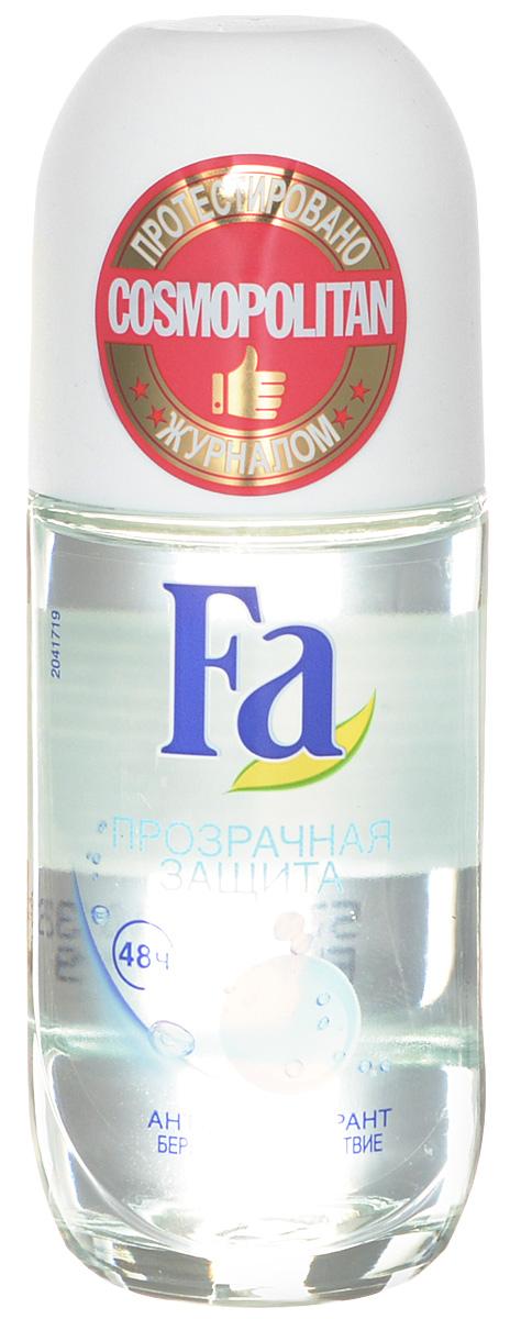 FA Дезодорант роликовый женский Прозрачная Защита, 50 мл