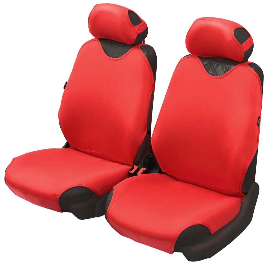Чехол-майка Azard Cotton, передний комплект, цвет: красный, 4 предметаМАЙ00003Универсальные чехлы-майки на передние сидения автомобиля. Приятный на ощупь мягкий материал имеет в своем составе 70% хлопка. Чехлы надежно прилегают к автокреслам и не собираются в процессе эксплуатации. Применимы в автомобилях с боковыми подушками безопасности (AIR BAG). Материал триплирован огнеупорным поролоном 2 мм, за счет чего чехол приобретает дополнительную мягкость и устойчивость к возгоранию. Авточехлы майки Azard Cotton износоустойчивы и легко стирается в стиральной машине. Рекомендуется стирка в деликатном режиме.