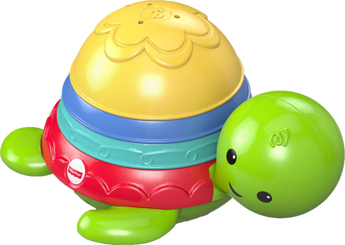 Fisher Price Игрушка для ванной ЧерепашкаDHW16Милая игрушка для ванной Fisher Price Черепашка, которая умеет плавать, обязательно понравится вашему малышу и будет служить необходимым атрибутом во время купания. Малыш сможет сортировать три панциря, разных по размеру и цвету, на спинке черепашки или наполнять их водой и смотреть, как она вытекает (из каждого панциря вода вытекает по своему). Поэтому пока вы моете ребенка, игрушка будет веселить его, одновременно развивая навыки мелкой моторики и координации.
