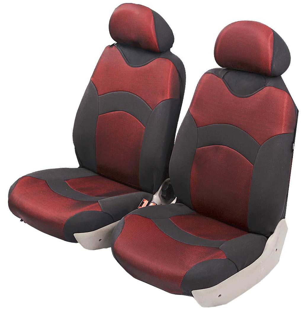 Чехол-майка Azard Revolution, передний комплект, цвет: красный, 2+2 предметаМАЙ00035Универсальные чехлы-майки на передние сидения автомобиля. Полностью закрывают сидения. Чехлы надежно прилегают к автокреслам и не собираются в процессе эксплуатации. Применимы в автомобилях с боковыми подушками безопасности (AIR BAG). Материал триплирован огнеупорным поролоном 2 мм, за счет чего чехол приобретает дополнительную мягкость и устойчивость к возгоранию. Авточехлы майки Azard Revolution износоустойчивы и легко стирается в стиральной машине. Рекомендуется стирка в деликатном режиме.