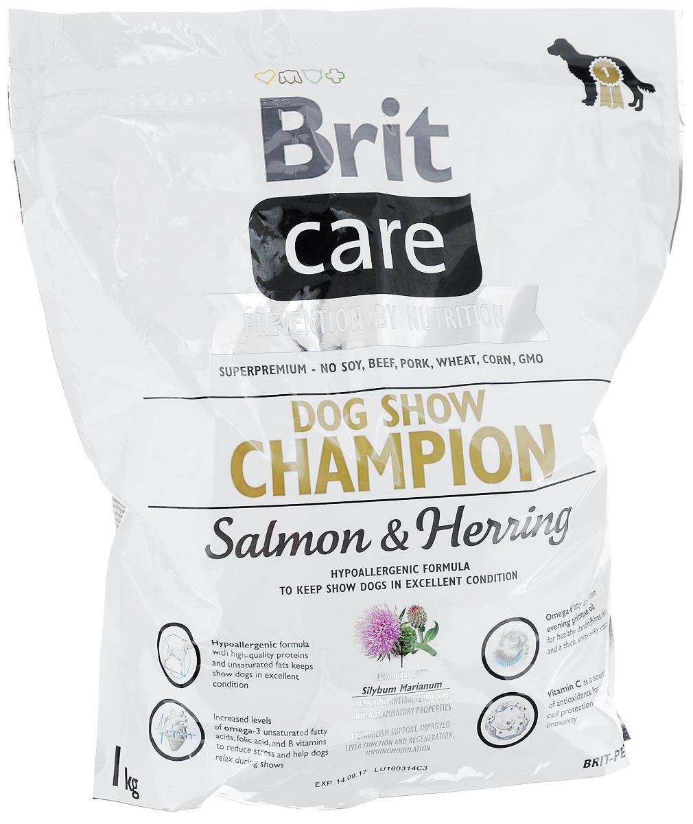 Корм сухой Brit Care, для выставочных собак, с лососем, сельдью и рисом, 1 кг8595602510429Полнорационный, гипоаллергенный корм Brit Care предназначен для взрослых собак всех пород участвующих в выставках. Повышенное содержание витамина С и жирных кислот омега-3 защитят организм собаки от вредного воздействия стресса. Гипоаллергенная формула - мясо лосося и сельди, также подходит собакам с чувствительным пищеварением. Белок из мяса рыб обладает превосходной усвояемостью, что особенно важно в выставочный период, так как собаки часто подвергаются стрессовым ситуациям. Лососевый жир, благодаря содержащимся в нем полиненасыщенным жирным кислотам, благотворно влияет на качество кожи и шерсти животного. MOS (маннан-олигосахариды) поддерживают здоровье кишечника, сокращают патогенную микрофлору. Товар сертифицирован.