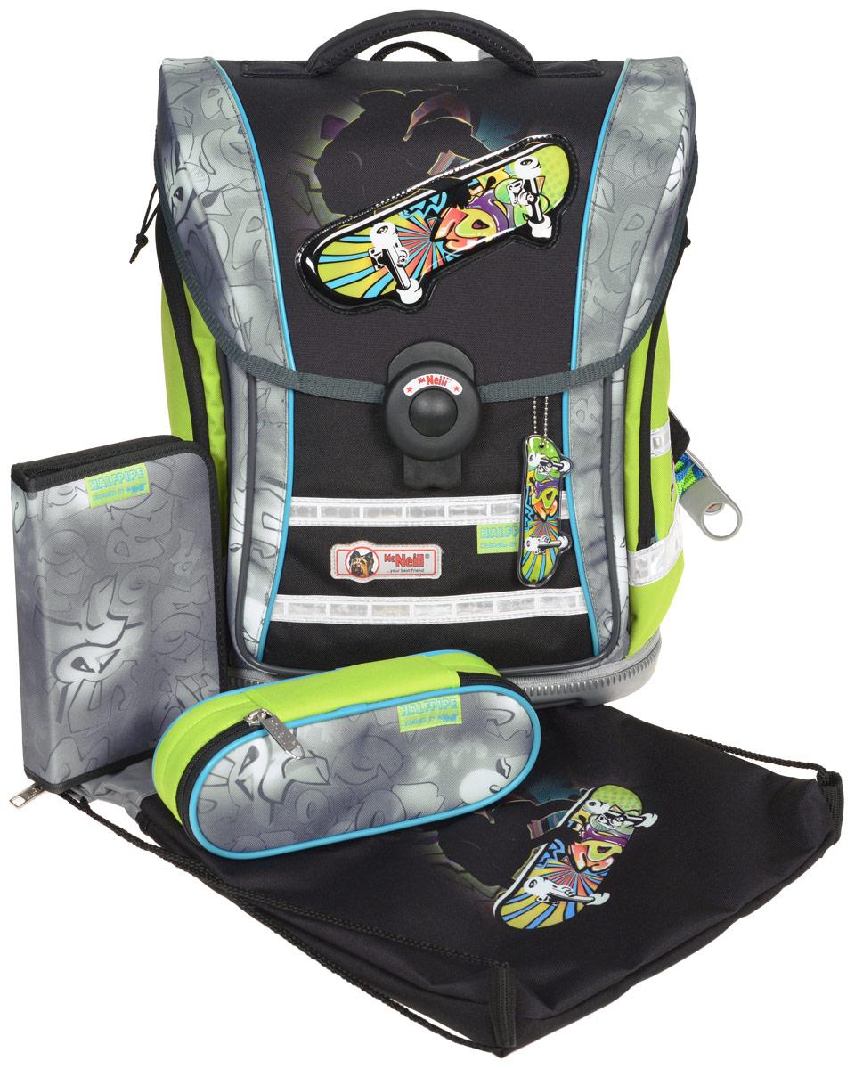 Mc Neill Ранец школьный Ergo Light Compact Скейтборд с наполнением 3 предмета 9613156000