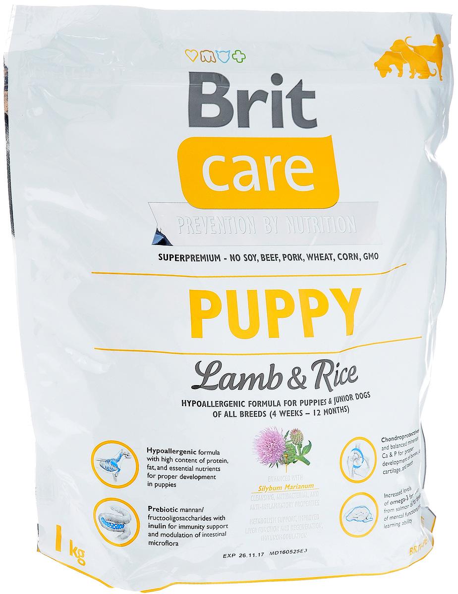 Корм сухой Brit Care Puppy All Breed, гипоаллергенный, для щенков и молодых собак всех пород, с ягненком и рисом, 1 кг8595602509812Сухой корм Brit Care Puppy All Breed - это полноценный рацион для щенков всех пород (от 4 недель до 12 месяцев). Рекомендуется также беременным и кормящим собакам. Комплексное содержание питательных веществ оказывает благоприятное влияние на кости, хрящи и зубы. Товар сертифицирован.
