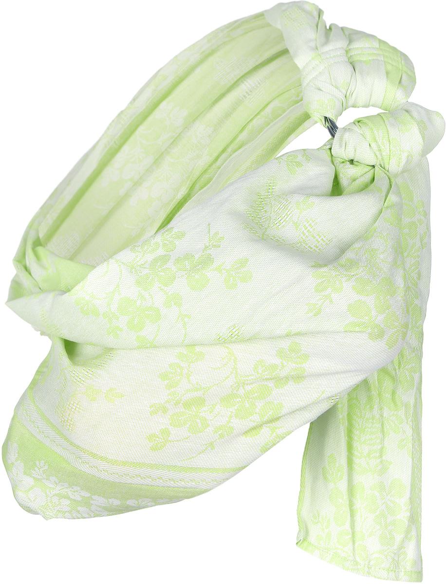 Чудо-Чадо Слинг с кольцами Герба цвет светло-зеленый ( СКЛ01-002 )