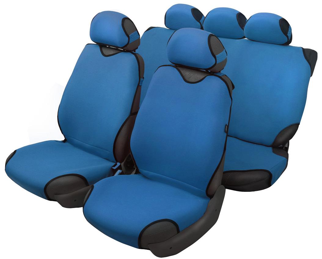 Чехол-майка Azard Sprint, полный комплект, цвет: темно-синий, 4+5 предметовМАЙ00070Универсальные чехлы-майки на сидения автомобиля. Классический дизайн. Чехлы надежно прилегают к автокреслам и не собираются в процессе эксплуатации. Применимы в автомобилях с боковыми подушками безопасности (AIR BAG). Материал триплирован огнеупорным поролоном 2 мм, за счет чего чехол приобретает дополнительную мягкость и устойчивость к возгоранию. Авточехлы майки Azard Sprint износоустойчивы и легко стирается в стиральной машине. Рекомендуется стирка в деликатном режиме.
