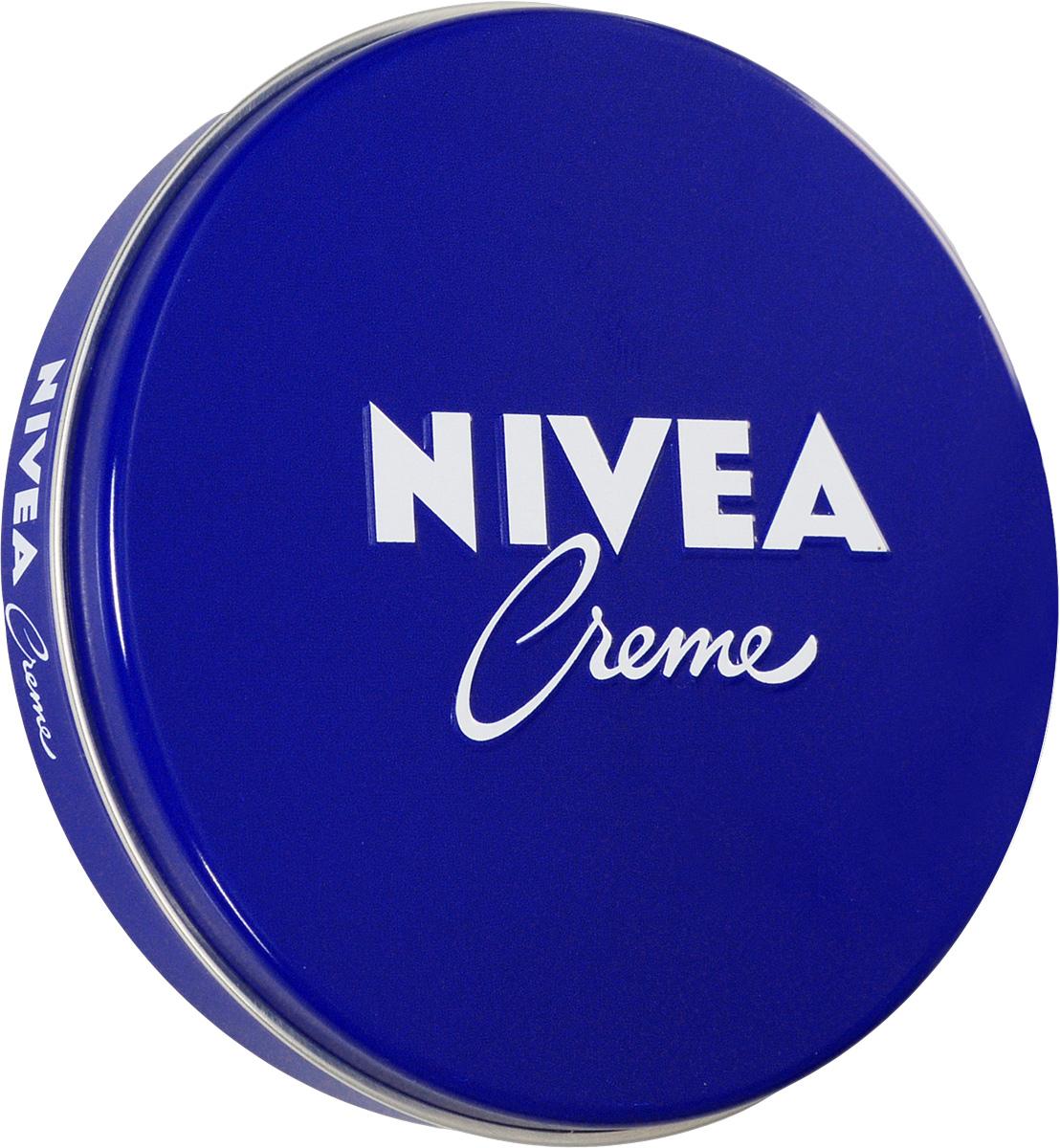 Nivea крем для кожи Nivea Creme, увлажняющий, универсальный, 75 мл100112153NIVEA Creme - универсальный увлажняющий крем. Благодаря уникальной формуле с эвцеритом, пантенолом и глицерином, крем прекрасно увлажняет, питает и бережно ухаживает за кожей тела, особенно за ее сухими участками. NIVEA Creme не содержит консервантов и поэтому подходит даже для нежной детской кожи. Продукт одобрен дерматологами. Товар сертифицирован.